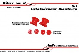 Toyota Hilux 96 a 05 - Buchas do Kit Estabilizador 06Pç